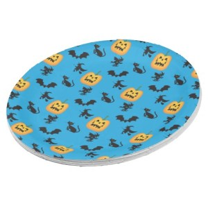 halloween party plates
