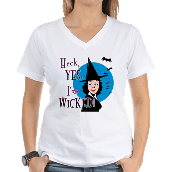 yes i'm wicked t-shirt