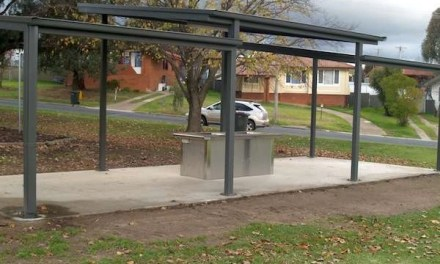Rotaract Park BBQ Shelter Completed