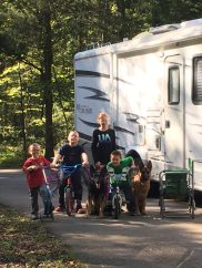 RV life with kiddos and our GSDs