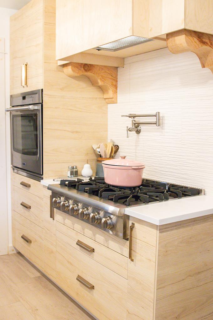 farmhouse kitchen remodel with pot