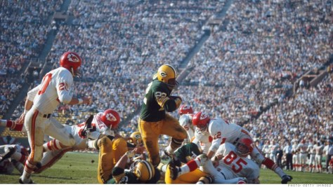 Super Bowl 1, Green Bay Packers vs Kansas City Chiefs