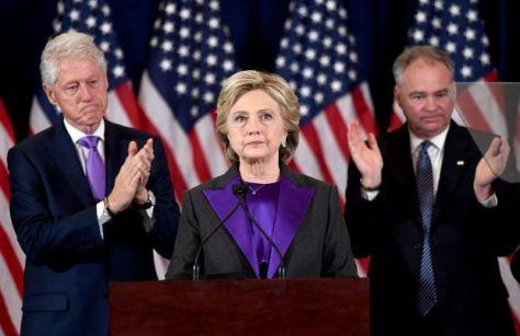 Hillary Concession Speech