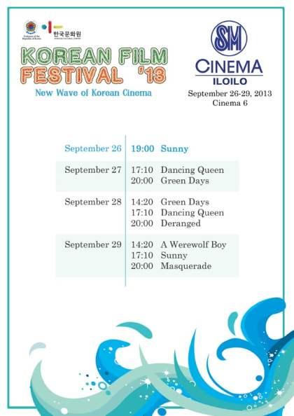 Korean Film Festival 2013 in Iloilo