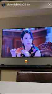 """His Instagram story shows Asia's Multimedia Star Alden Richards is watching the Korean drama """"It's Okay to Not Be Okay."""""""