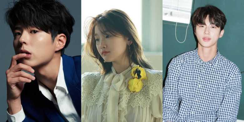 Park Bo-gum, Park So-dam, and Byeon Woo-seok
