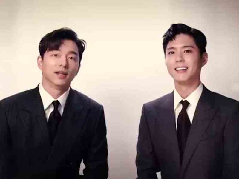 Gong Yoo and Park Bo-gum for Seo Bok