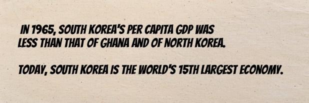 North Korea's GDP