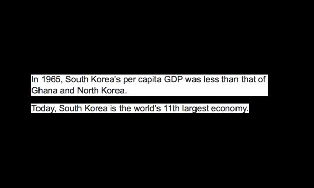 South Korea's economy