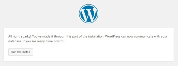 Click to run install