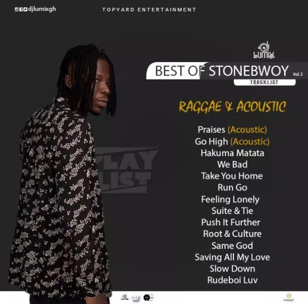 DJ Lumix – Best of StoneBwoy (Raggae & Acoustic) Version