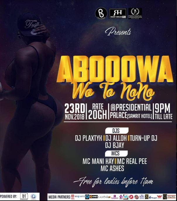 ABOOWA (Wo To Nono) Concert