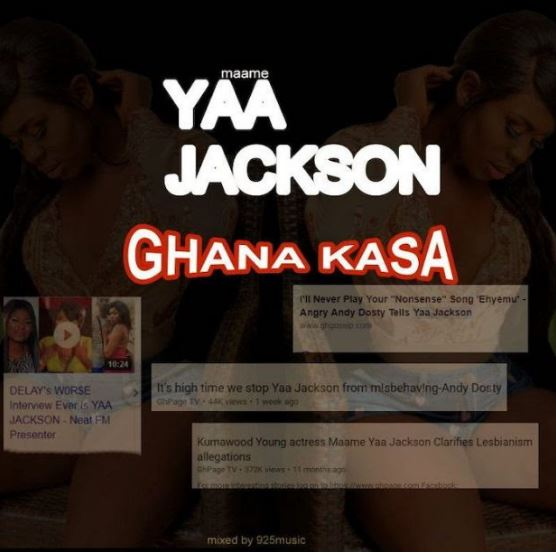 Download MP3: Yaa Jackson – Ghana Kasa (Mixed by 925Music)