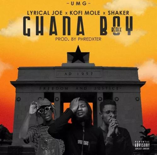 Download MP3: Lyrical Joe Ft. Kofi Mole & Shaker – Ghana Boy (Remix)