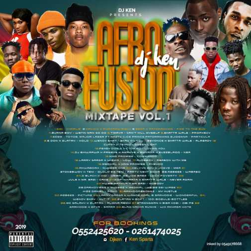 Download DJ Ken – AfroFusion Mixtape Vol.1