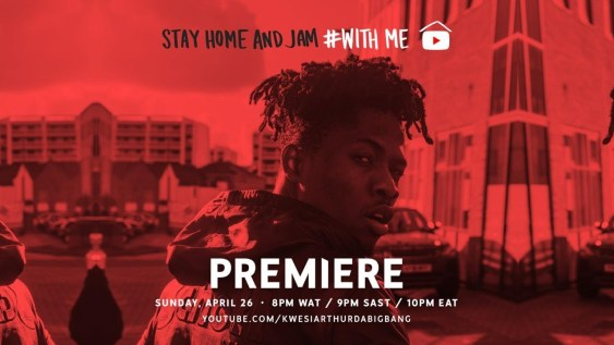 Kwesi Arthur Stay Home With Me (Live Session) mp3 download