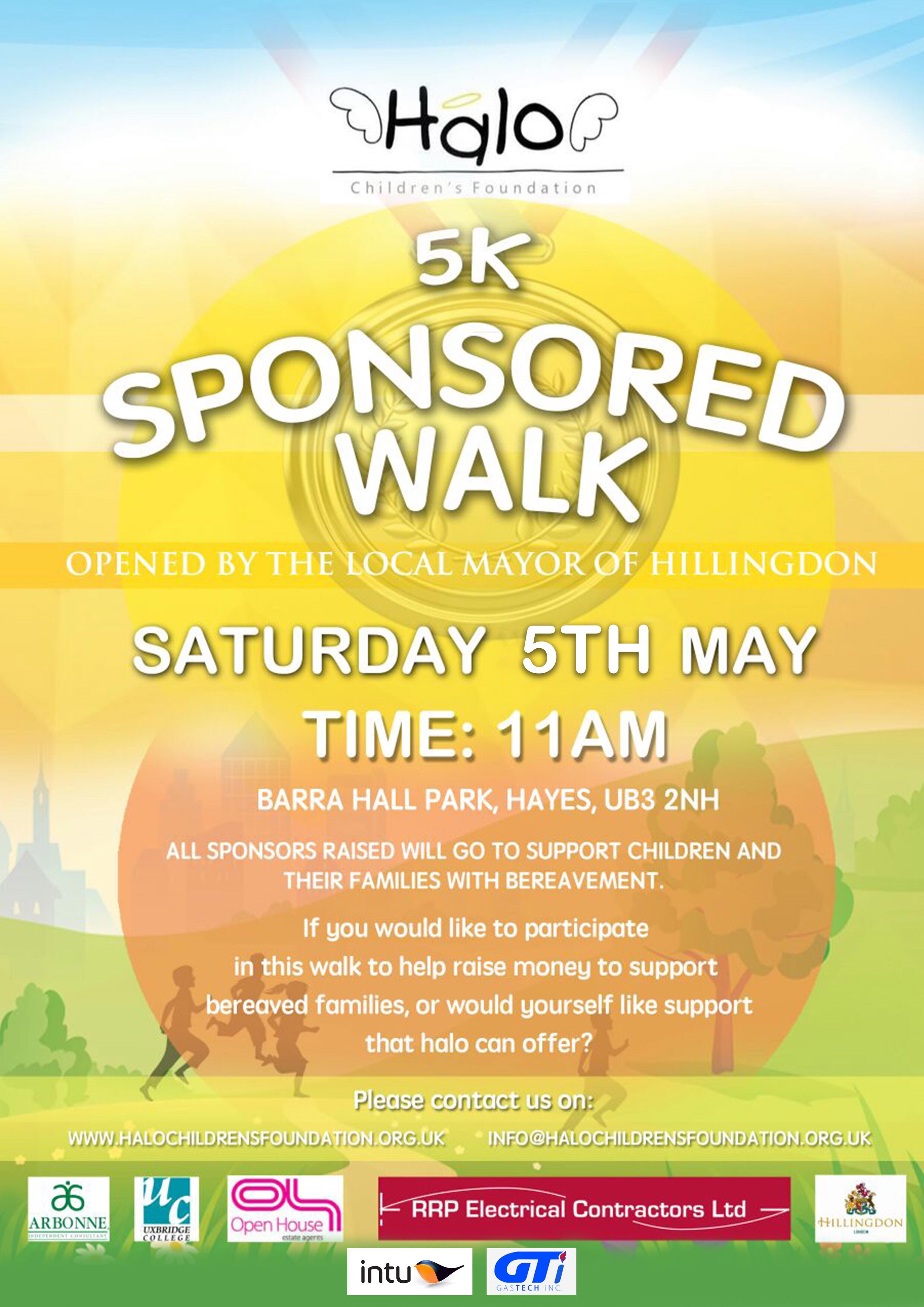 Annual Walk Is Back 5k Charity Walk Date Set For May 5th