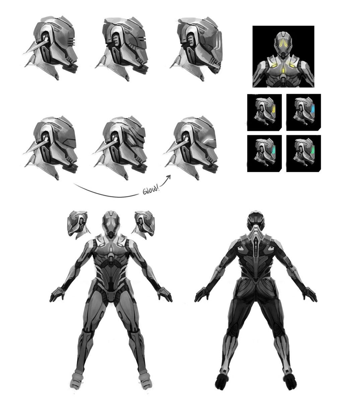 Ancient Human Armor Vs Forerunner Armor