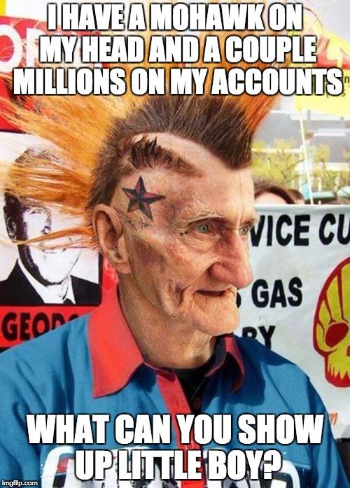 Old Mohawk Guy