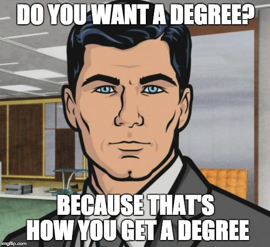 Do you want to get a degree?