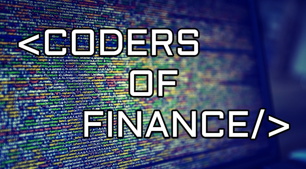 Coders of Finance