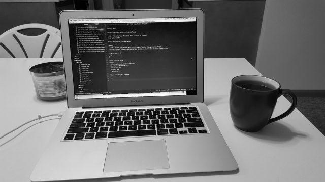 Coders of Finance - MacBook