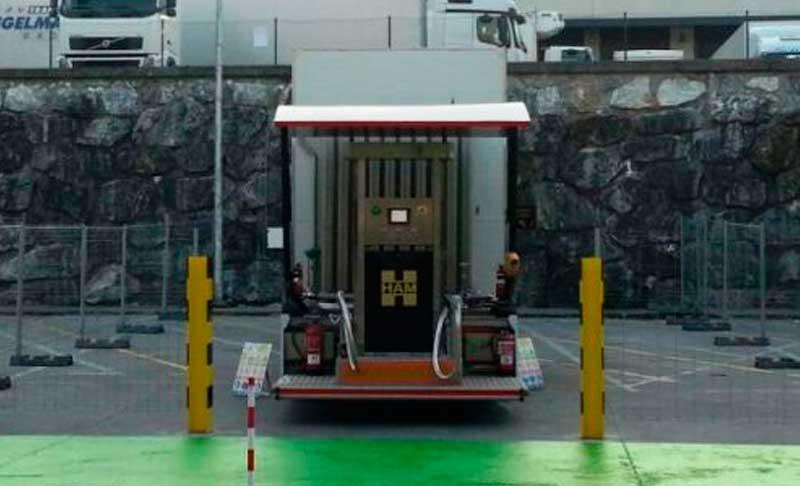 Estación móvil HAM GNL inaugurada en Guipúzcoa