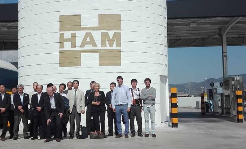 Grupo HAM recibe la visita de representantes de la NGV International Academy