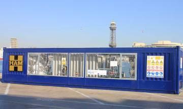 HAM ha diseñado y construido, dentro del proyecto de innovación Core LNGas HIVE, una unidad móvil GNL