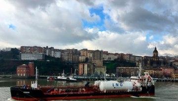HAM Bunkering GNL en el Puerto de Bilbao