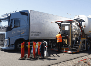 HAM supplies LNG to Volvo Gas Trucks