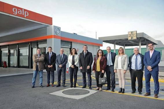 Grupo HAM inaugura en el Port de Barcelona la primera Gasinera del sistema portuario estatal que suministra Gas Natural Licuado (GNL) y Comprimido (GNC)