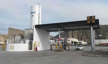 Apertura de la nueva estación de servicio HAM GNC y GNL en Alfajarín, Zaragoza