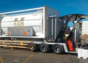 HAM inaugurates LNG mobile unit in Benavente, Zamora