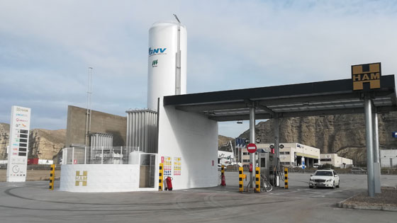 HAM Group currently has 46 compressed natural gas and liquefied natural gas gas stations at strategic points in Spain and the rest of Europe