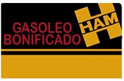 La tarjeta Grupo HAM de Gasóleo Bonificado está pensada para empresas y autónomos que repostan gasóleo bonificado para usar como carburante o combustible