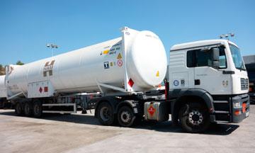 HAM, líder en el transporte por carretera de productos inflamables y criogénicos, como dióxido de carbono, gases de aire y gas natural licuado, entre otros