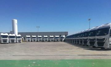 Grupo HAM ha incorporado a su flota 25 tractoras nuevas propulsadas con gas natural licuado