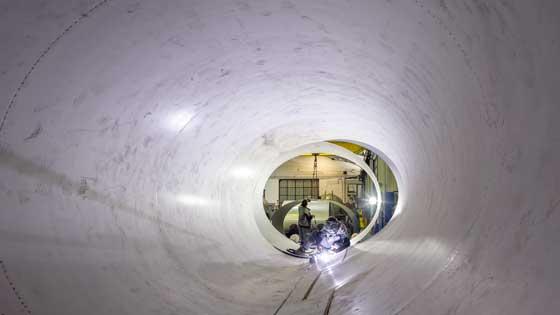 Vakuum, diseña y construye estructuras para almacenar GNL y gases del aire
