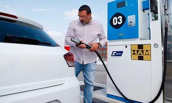 Cómo repostar Gas Natural Comprimido en las estaciones de servicio GNC de Grupo HAM
