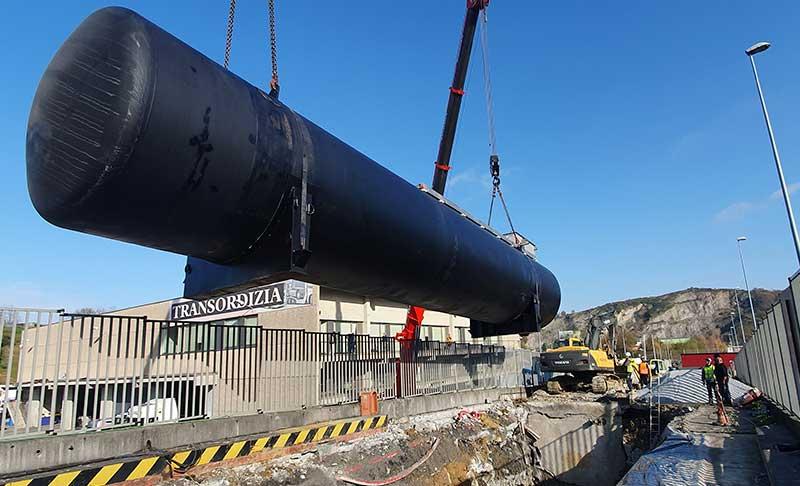 HAM pionera en Europa con su Gasinera GNC-GNL con depósito soterrado