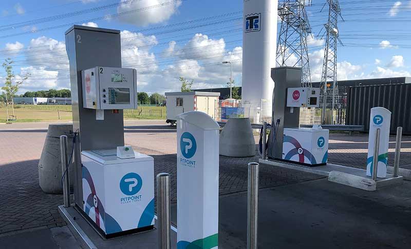 HAM dispone de nuevas Gasineras GNC-GNL en Bélgica y Holanda