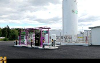 HAM ha desarrollado el proyecto de la nueva estación de servicio de Gas Natural Licuado de ESE en Finlandia