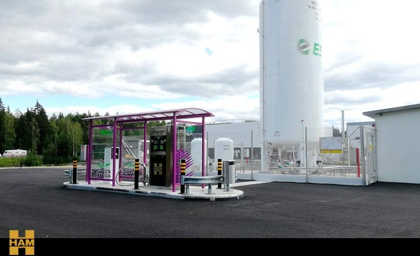 HAM has developed the project for the new ESE LNG service station in Finland