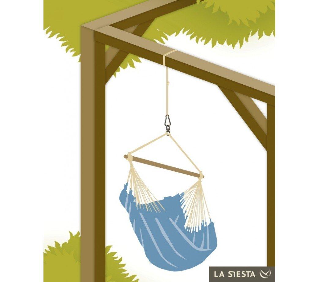 kit de fixation seguro pour hamac chaise