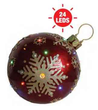 Red Christmas Bauble prop