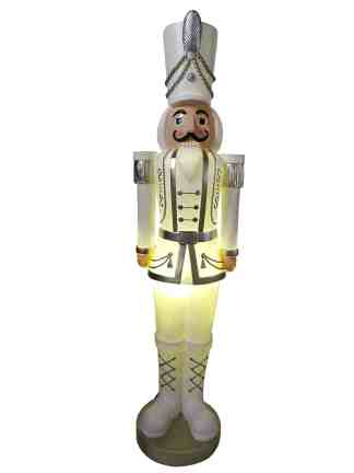 Nutcracker White statue
