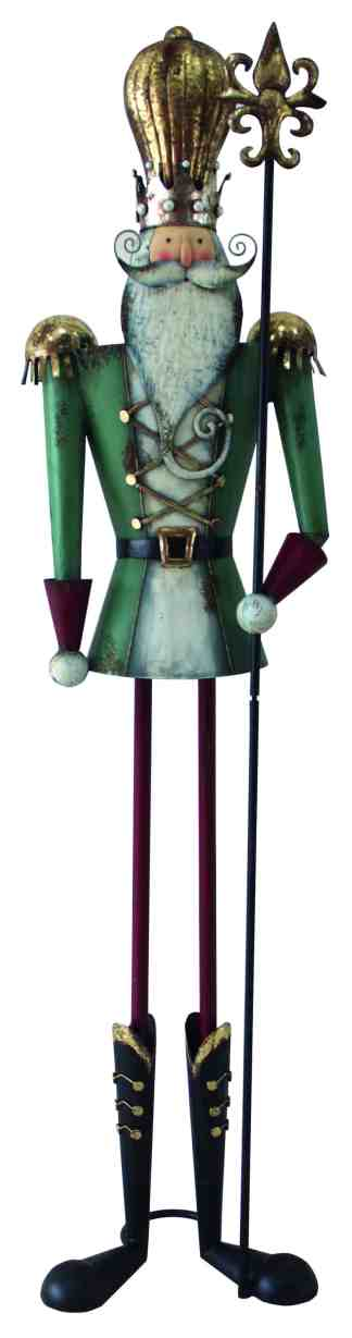 Nutcracker Gold Hat statue