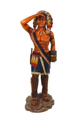 Tobacco Store Indian statue