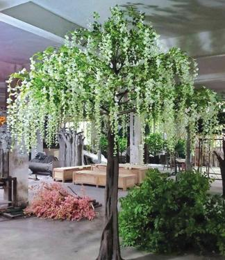 Artificial Wisteria Flower Tree